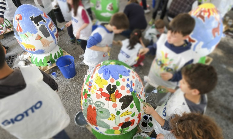 Children OPT Egg Festival