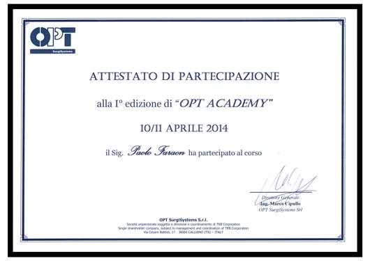 OPT_Academy-Attestato