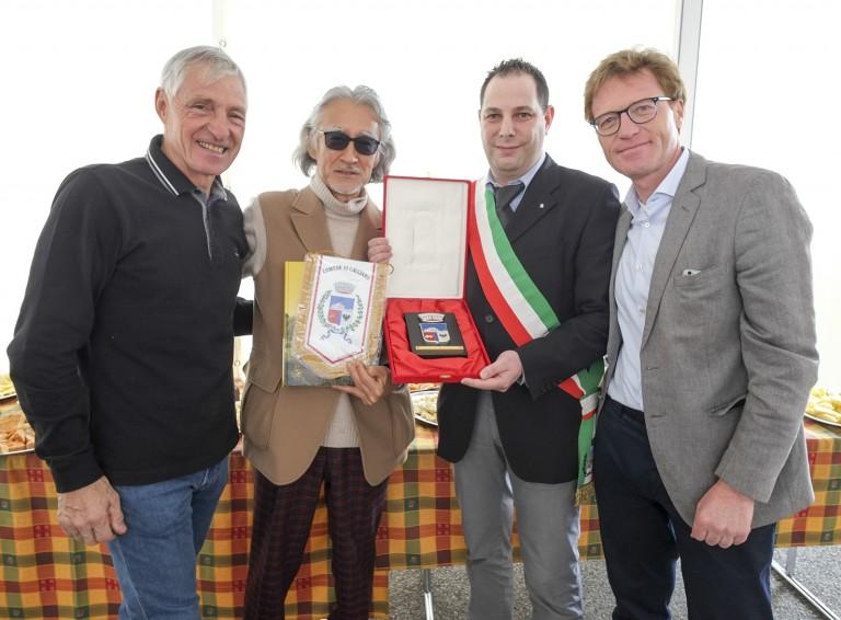 Francesco Moser - Yasuhiko Sata - Lorenzo Conci - Alessandro Olivi