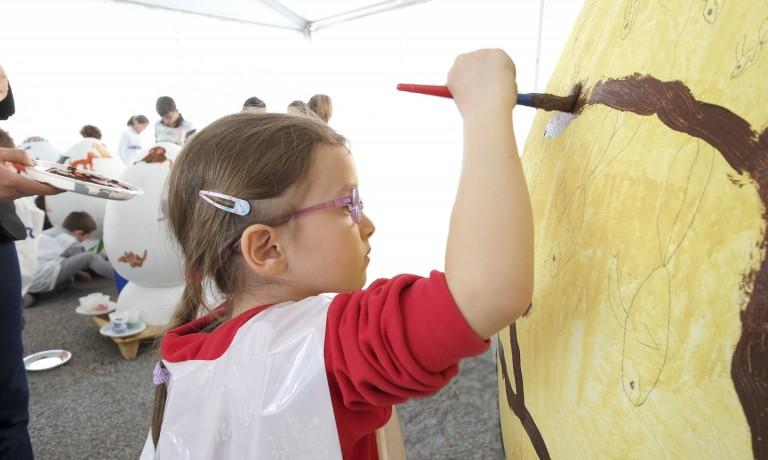 Child OPT Egg Festival